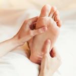 massage des pieds à domicile